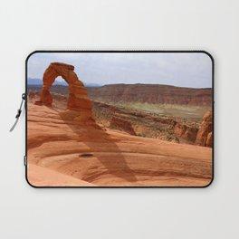 Delicate Arch A Famous Landmark Laptop Sleeve