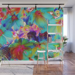 Oriental Happiness Wall Mural