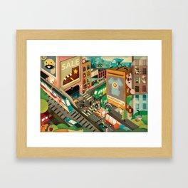 City Madness ( 2011 ) Framed Art Print