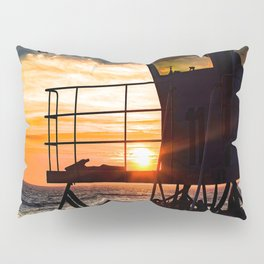 No Eclipse In Sight - Surf City September 27, 2015 Pillow Sham