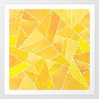 sunshine Art Prints featuring Sunshine by Elisabeth Fredriksson