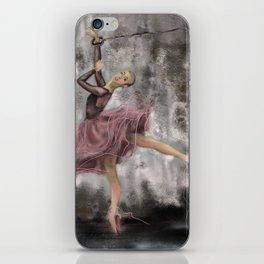 Freedom of art iPhone Skin