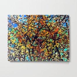 colorful berries shrub Metal Print