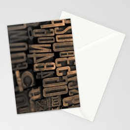 Movable Type 01 Stationery Cards