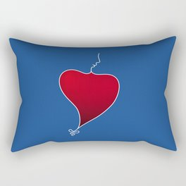 Heat Beat Rectangular Pillow