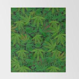 Infinite Pot Tile Throw Blanket