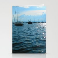 sailing Stationery Cards featuring Sailing by Rene Robinson
