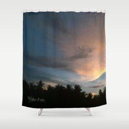 Fox In Socks - Clouds Shower Curtain
