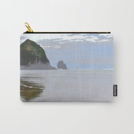 Illustrated Haystack Rock Carry-All Pouch