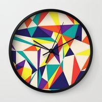 games Wall Clocks featuring Love Games by Anai Greog