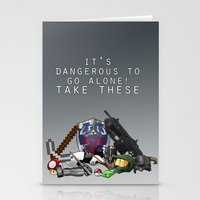 gamer Stationery Cards featuring Gamer  by Ioana Muresan