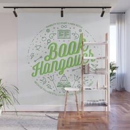 Book Hangover (Green) Wall Mural