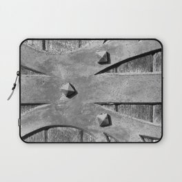Hinges On The Cathedral Door Laptop Sleeve