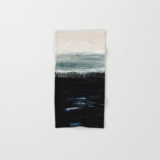 abstract minimalist landscape 3 Hand & Bath Towel