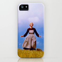 Julie Andrews, Sound of Music iPhone Case