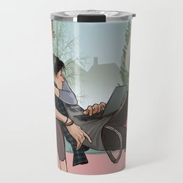 Bughead window Travel Mug