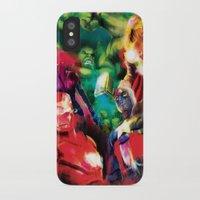avenger iPhone & iPod Cases featuring Color Avenger! by Jesus De La Mora