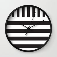 piano Wall Clocks featuring Piano by Vadeco