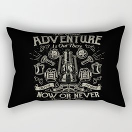 The Great Adventure is Out There Rectangular Pillow