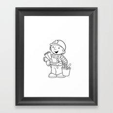 Bob The Builder Framed Art Print