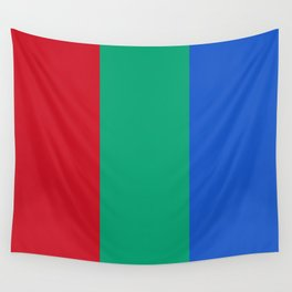 Flag of Mars - High quality authentic version Wall Tapestry