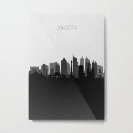 City Skylines: Jakarta Metal Print