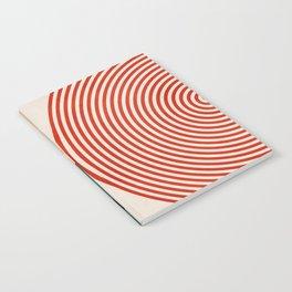 Geometric lines & shapes II circles Notebook