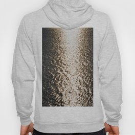 the sea at sunset Hoody