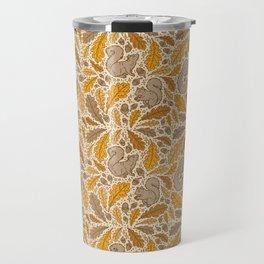 Oak & Squirrels   Autumn Yellows Palette Travel Mug