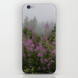 Purple meadow dream iPhone Skin