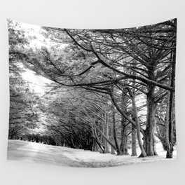 The Black & White Forest Wall Tapestry