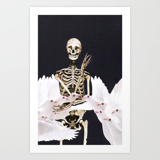 peace and death Art Print