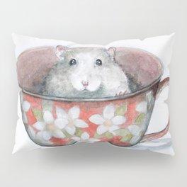 Rat in a cup Pillow Sham