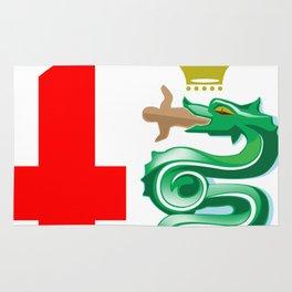 Alfa Romeo logo interpretation! Rug