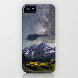 Maroon Bells II iPhone Case