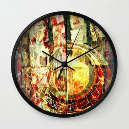 Mayan series 12 Wall Clock