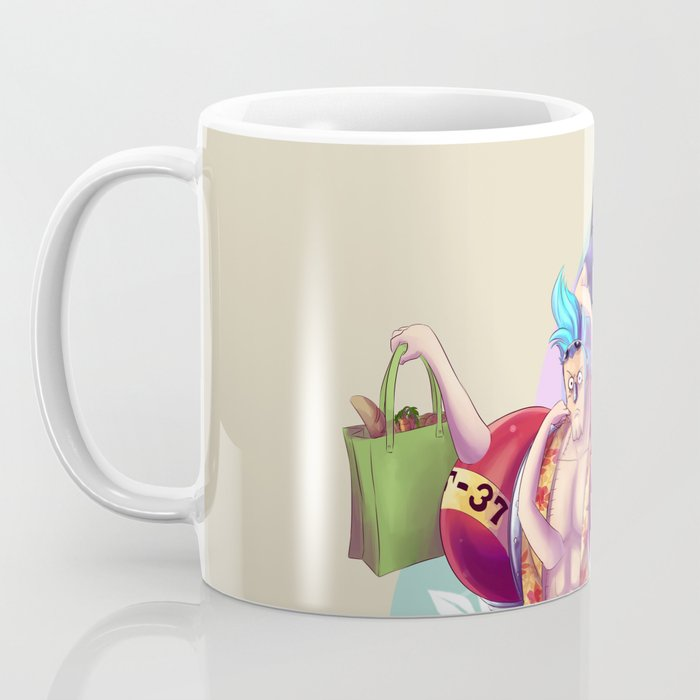 Franky and Robin Coffee Mug