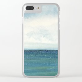 Shining Sea Clear iPhone Case