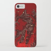werewolf iPhone & iPod Cases featuring Werewolf by Kivapo