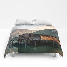 Lago di Braies Comforters