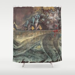 Elle Undra Shower Curtain