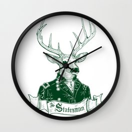 The Statesman Wall Clock