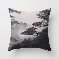 Huangshan Throw Pillow