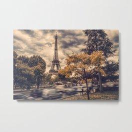 La Tour Eiffel_01 Metal Print