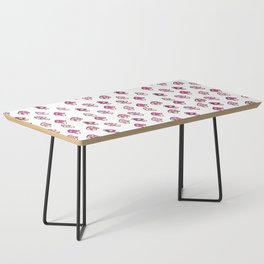 Pink Fairy Toadstools Pattern - seamless pattern Coffee Table