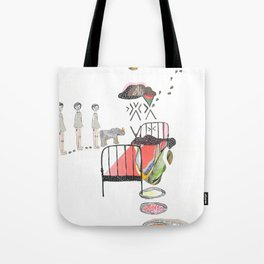Sleepwalking Tote Bag
