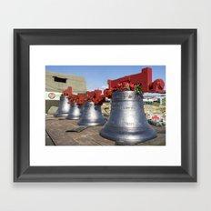 Ring of Bells Framed Art Print