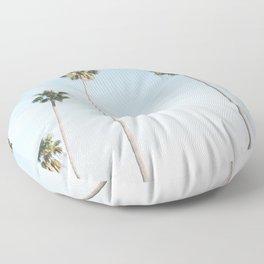 Beach Palms Floor Pillow
