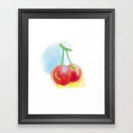 Sweet Cherry Framed Art Print