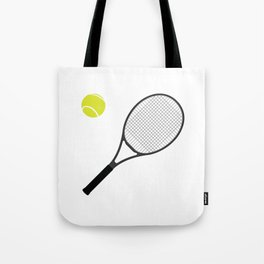 Tennis Racket And Ball 1 Tote Bag